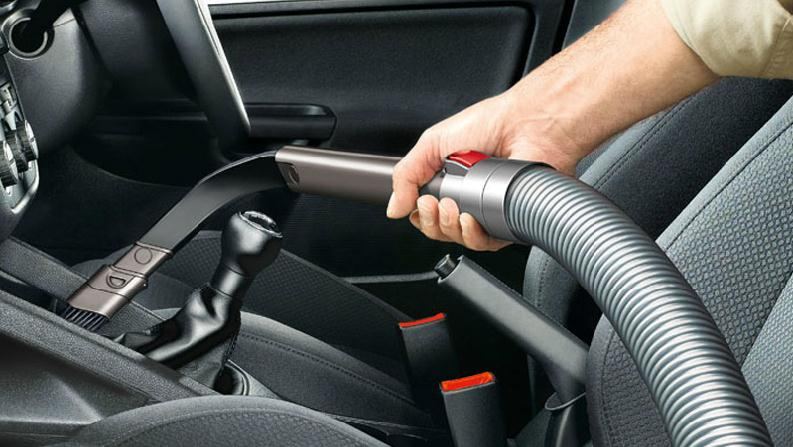 Tool For Cleaning Around Car Seats
