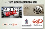 Top 3 most shocking automotive stories of 2015