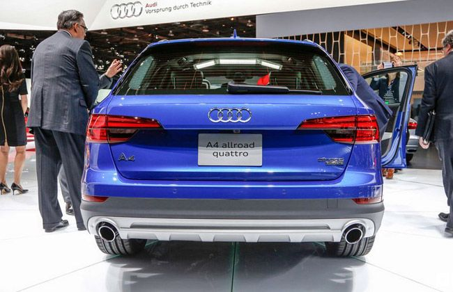 Audi A4 AllRoad Quattro Getting Itself Showcased In North American International Auto Show ...