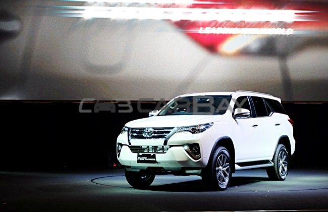 Launching Fortuner 2016