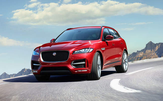 f pace exterior
