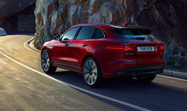 f pace rear