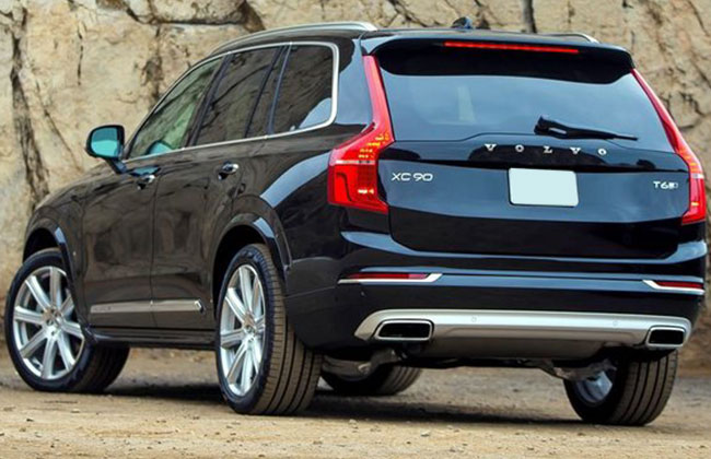 XC90 rear profile