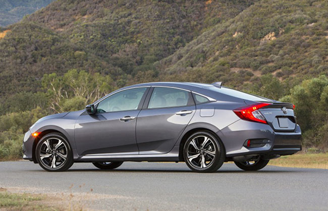civic 2016 side view