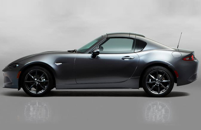 mx-5 side view