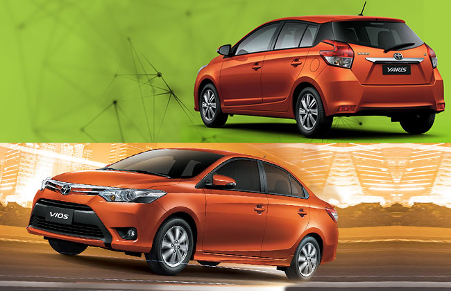 yaris and vios front profile