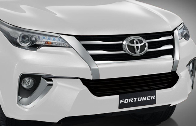 front view fortuner 2016