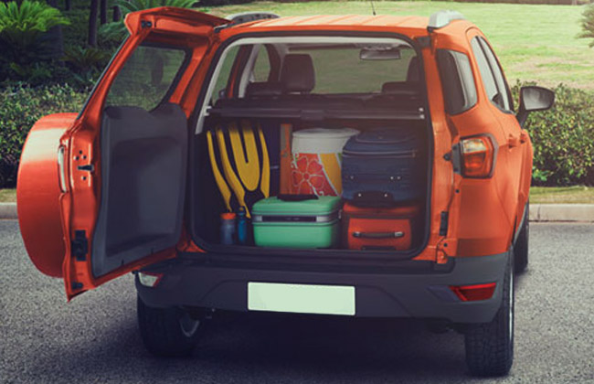 EcoSport boot space