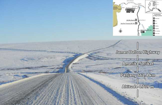 James Dalton highway di Alaska