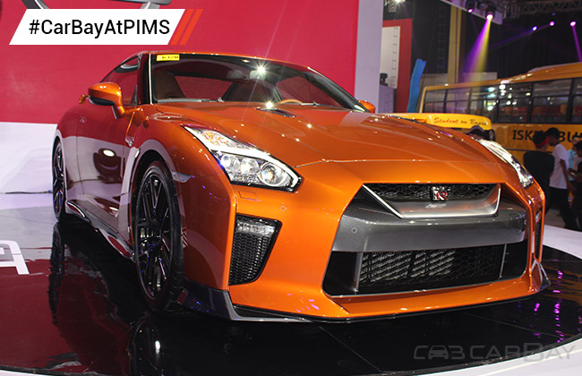 Nissan GT-R Side View