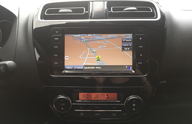 Navigation system of Mirage