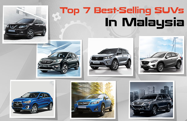 Recap Top Best Selling Suvs In Malaysia Carbay