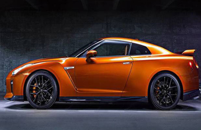 Nissan GT-R Side Profile