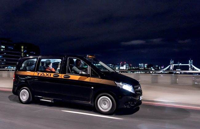 Vito taxi in London