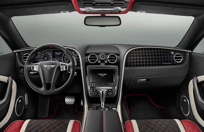 Bentley Supersports Cabin
