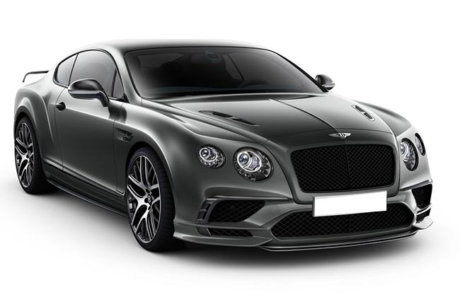 Bentley Supersports Front