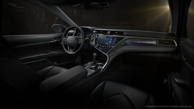New Camry interior