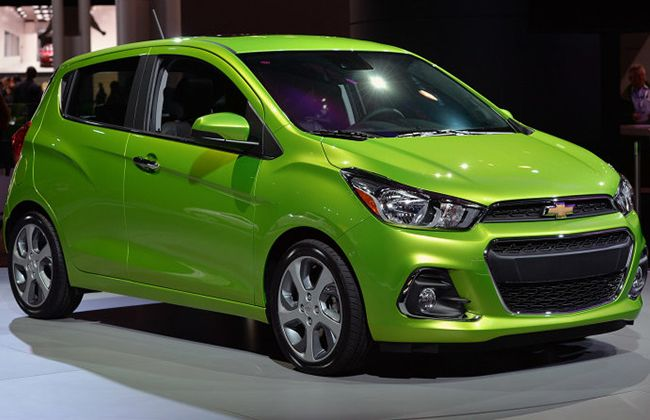 2017 chevrolet spark making its way to the philippines zigwheels. Black Bedroom Furniture Sets. Home Design Ideas