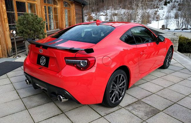 Toyota 860 Special Edition Rear