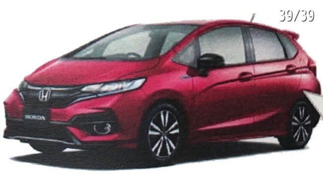 Honda Jazz Leaked 2017 01
