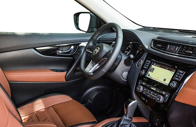 2017 nissan x trail revealed zigwheels for Interior nissan x trail 2018