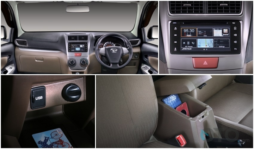interior xenia r sporty
