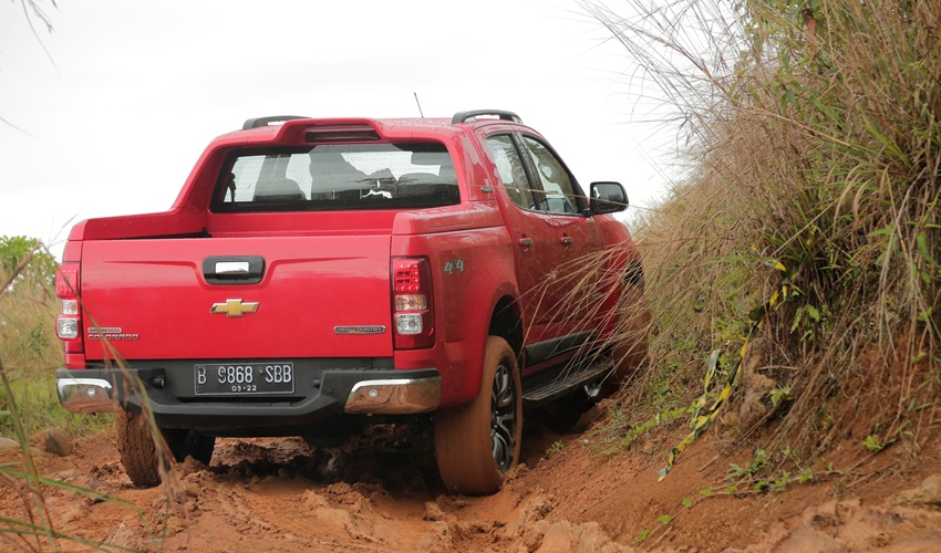 Off-road test - Chevrolet Colorado (10)