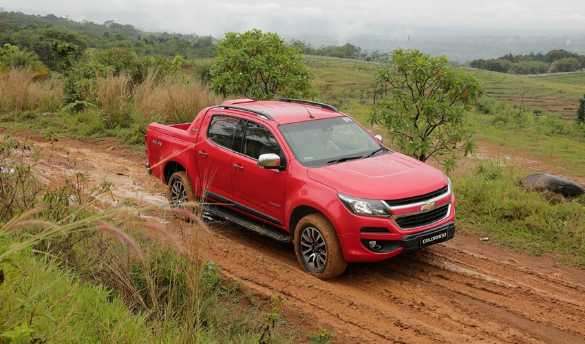 Off-road test - Chevrolet Colorado (1)