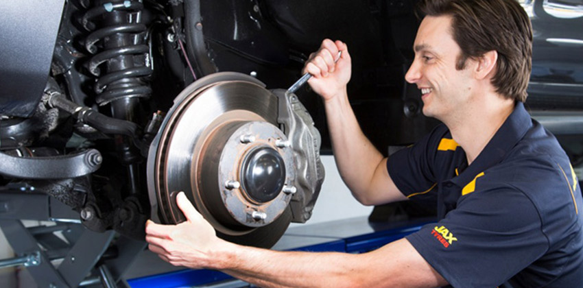 Physical Inspection of Brakes