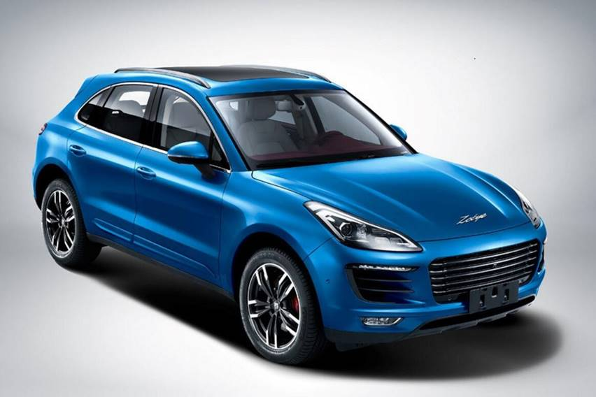 Zotye SR9 Copy of POrsche Macan