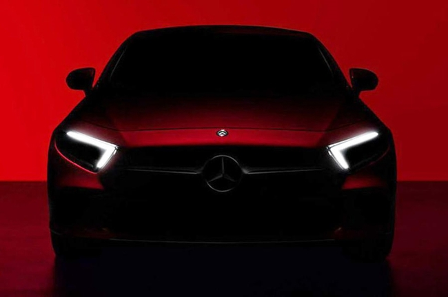 2019 Mercedes-Benz CLS teaser image released ahead of its debut