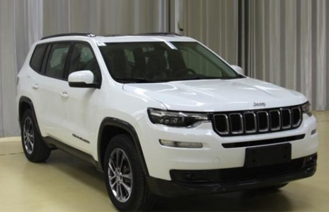 Jeep Commander images leaked ahead of its official debut