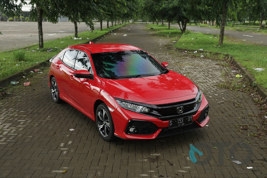 Test Drive Honda Civic Hatchback