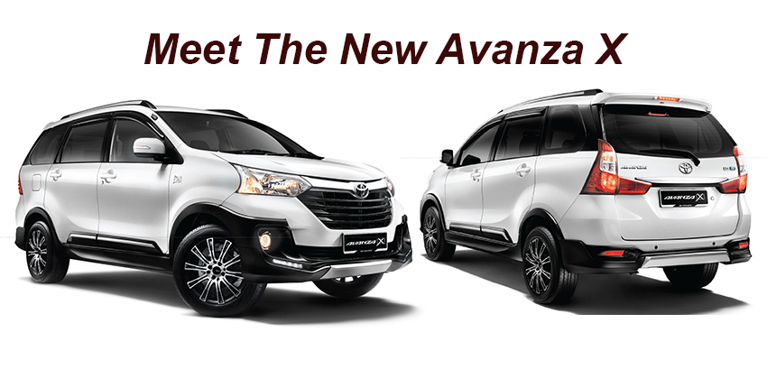 Toyota gives Avanza 'X' treatment - Is it worth the additional cost?