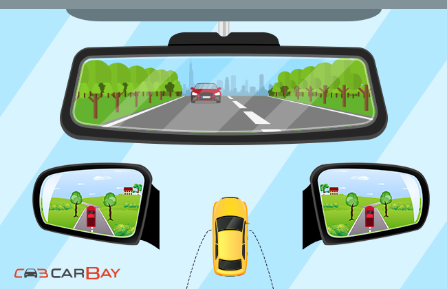 Looking back: How to set up side and rear view mirrors?