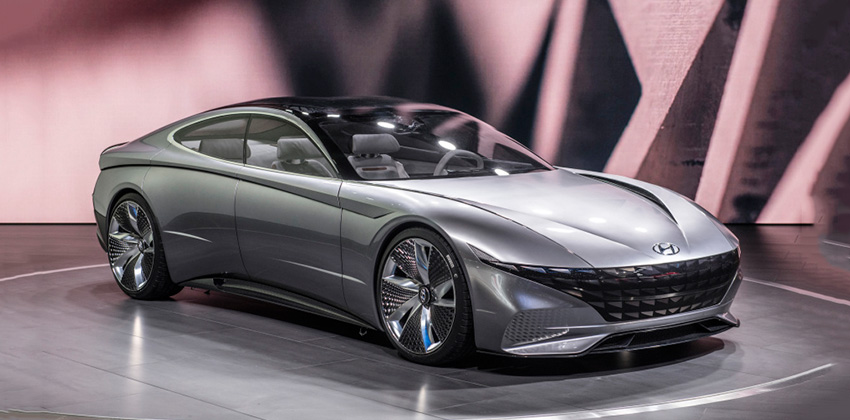 Hyundai S Le Fil Rouge Concept Committed To Golden Ratio Displayed At Geneva