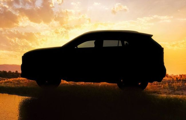 This is the First Look of the All-new Toyota RAV4