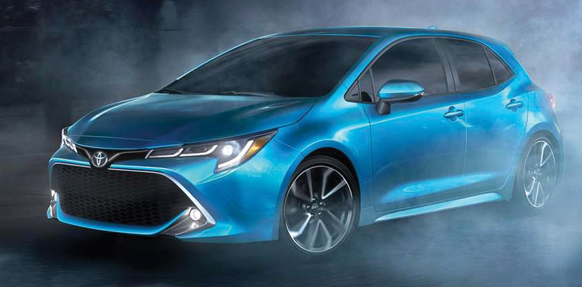 2019 Toyota Corolla Hatchback Unveiled Ahead Of The New York Auto