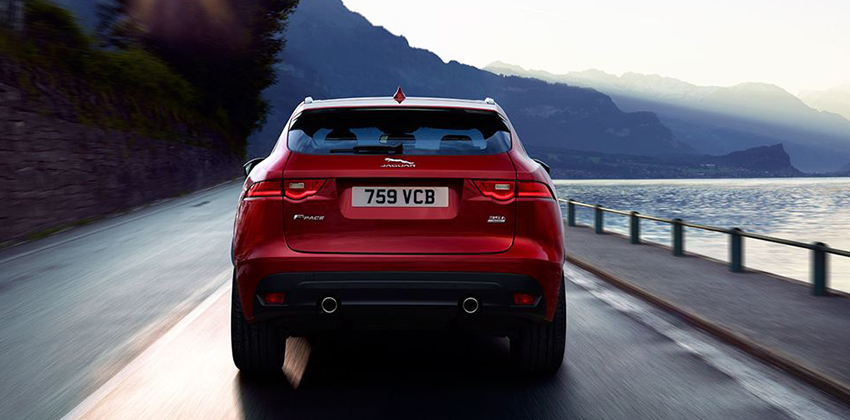 F-Pace rear image
