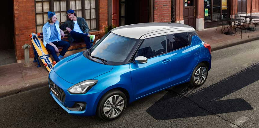 All-new Swift exterior