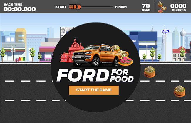 Ford showcases Ranger's capabilities through an online game
