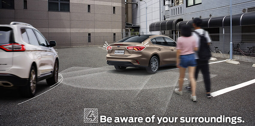 Driving Tip - Be aware of your surroundings