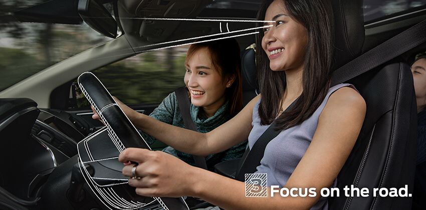 Driving Tips - Stay Focus on Road