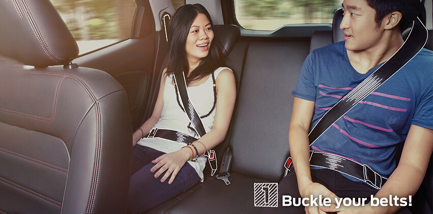 Driving Tips - Buckle seat belts