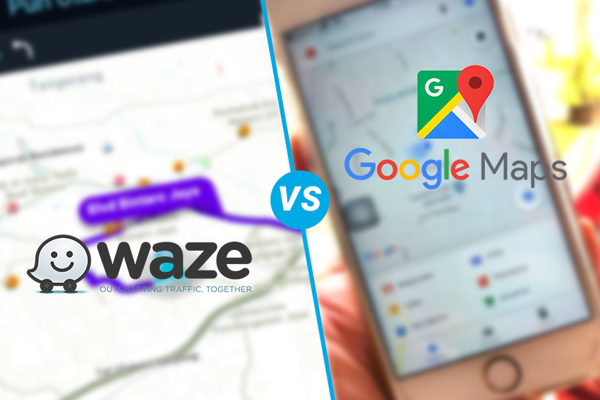 Komparasi Peta Digital, Waze atau Google Maps?