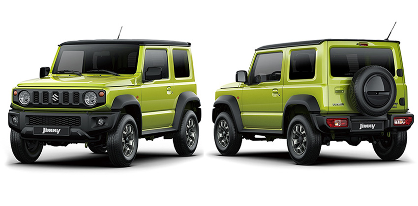 all-new Jinmy front and rear image