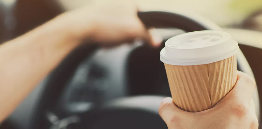 Drink Coffee to avoid drowsiness