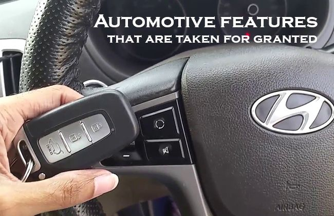 Five automotive features that the new-gen takes for granted