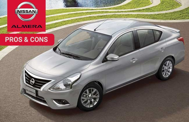 Nissan Almera - Pros and cons