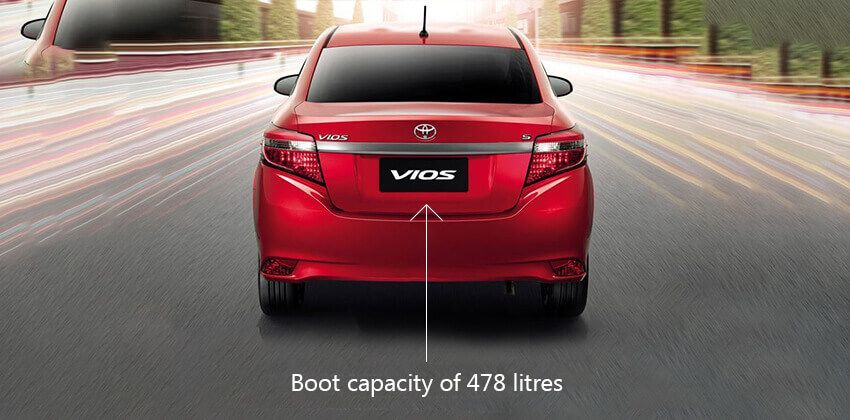 new Vios boot
